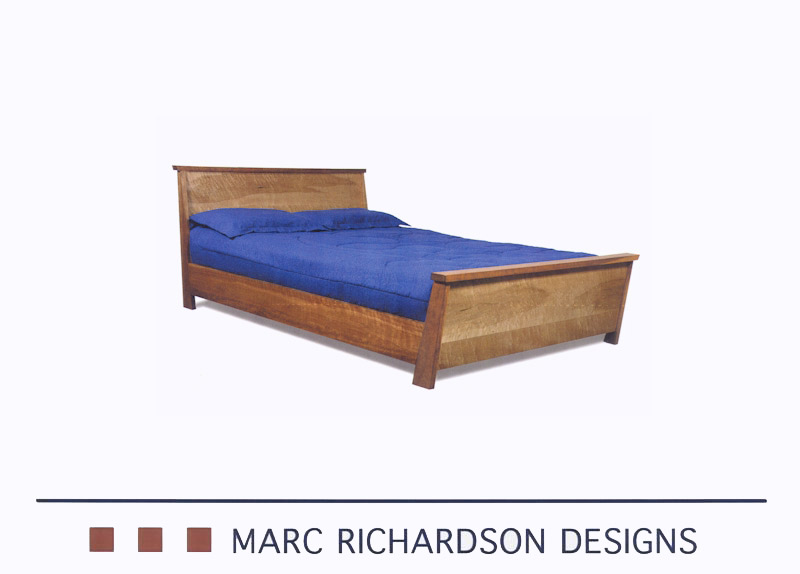 Custom made beds constructed of solid wood one of a for One of a kind beds
